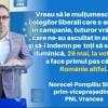 Prim-vicepreședintele PNL Norocel-Pompiliu Stroe mulțumește susținătorilor
