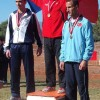 Jandarm vrâncean pe podium la o competiție de atletism