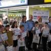 Concurs de desene Spune NU violenței în școală 1 Iunie Promenada Focșani