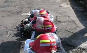 Pompierii simulează incendiu în Onasis