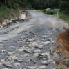 Drum afectat de ploile torenţiale