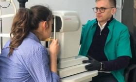 Consultații oftalmologice gratuite pentru copiii familiilor cu dificultăți materiale