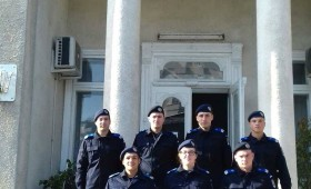 Tineri jandarmi repartizați în Vrancea