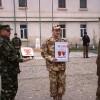 Militarul vrâncean rănit în Afganistan a ajuns acasă