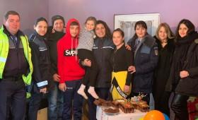 Aniversare alături de polițiști și voluntarii Asociației Hope and Love for Life