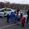 Lecții de la polițiști pentru copiii din grădinițe