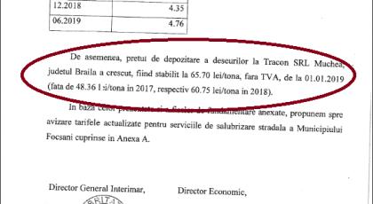 Vara scumpirilor la Focșani