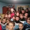 Moș Nicolae adus de Sporting Focșani la o familie din Ciușlea