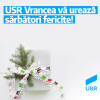 USR Vrancea: Sărbători fericite!