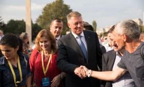 Klaus Iohannis a început în forță bătălia pentru un nou mandat.