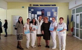 Premiul I pentru elevele Școlii Postliceale Sanitare Vasile Alecsandri – Focșani