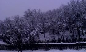 Prima ninsoare la finele lui noiembrie