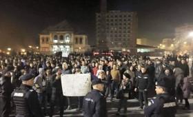1000 de focsaneni au marsaluit in zona centrala a orasului