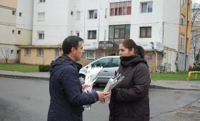Candidatul Ion Ștefan a vestit primăvara de la primele ore ale dimineții