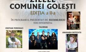 Ziua comunei Golești sărbătorită de Sf. Împărați Constantin și Elena