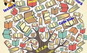 Biblioteca de vacanță cu lecturi în limbi străine