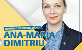 VIDEO: Ana Maria Dimitriu, candidat al PNL la europarlamentare, discută zilnic cu focșănenii