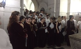 Concert de excepție la Mausoleul Mărășești al corurilor participante la Festivalul Internațional Coral Pastorala