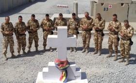 Gânduri din Afganistan: Veterani ai Armatei României răniți în teatrele de operații, în vizită în Afganistan