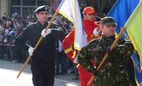 Ziua Imnului Național sărbătorită la Mausoleul Mărășești
