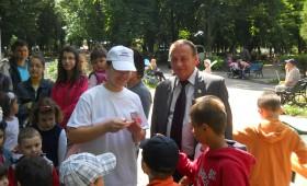 Copiii din adjus sarbatoriti de PP-DD Vrancea