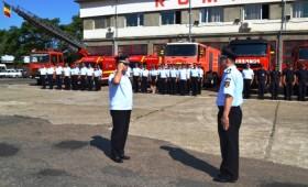Ziua Pompierilor inchide bulevardul Unirii