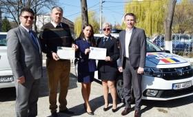 Vrânceni felicitați de conducerea Inspectoratului Județean de Poliție Vrancea