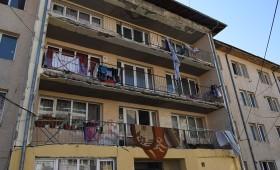 Control efectuat de DSP Vrancea la locuințele de pe str. Revoluției din Focșani