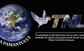TNL Vrancea va invita la Ora Pamantului