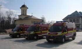 Ambulanțe noi pentru SMURD