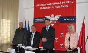 UNPR Vrancea: Neagu Murgu candidează la CJ iar Marius Iorga la primăria Focșani