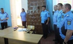 Avansari in grad la Inspectoratul Judetean de Jandarmi Vrancea