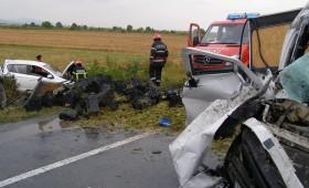 Ultima ora: Accident mortal la Popesti, pe E 85 – circulatia este blocata