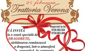 Sarbatoreste romaneste dragostea la TRATTORIA VERONA