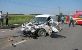 Tragedie pe E85, la intersectia cu Peco Cotesti