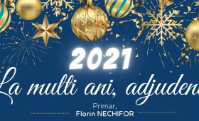 La mulți ani! Florin Nechifor – primarul municipiului Adjud