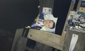 Incidente electorale: Afișele PNL smulse cu tot cu scânduri la Soveja