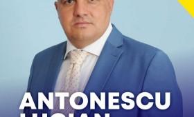Lucian Antonescu, candidatul liberal la funcția de primar al comunei Dumbrăveni vrea să dezvolte comuna