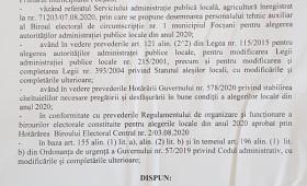 SCANDALOS: Primarul Cristi Valentin Misăilă și-a pus nora vitregă, șoferul și cumnata prietenului Matișan în Biroul Electoral Municipal Focșani.
