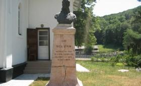 Bust Nicu Ifrim sat Ploscuţeni, comuna Ploscuţeni