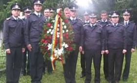 Ceremonie comemorativă şi slujbă religioasă la mormântul maiorului post-mortem Liviu Mihalache