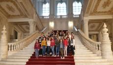 Elevii din Vizantea Livezi în vizită la Palatul Parlamentului