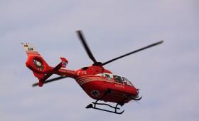Ultima ora: Eleva accidentata la Golesti transferata cu elicopterul