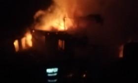 Un adăpost de animale din comuna Vizantea-Livezi a ars din cauza unui scurtcircuit electric