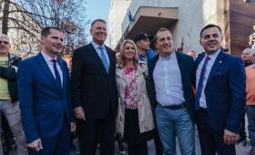 Normalitatea președintelui Iohannis pentru Vrancea: autostradă, spital, școli și revenirea vrâncenilor acasă