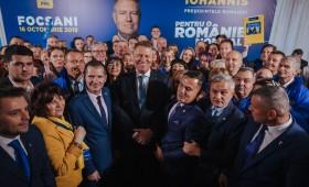 Klaus Iohannis a fost preferat în Vrancea. Conducerea PNL Vrancea mulțumită de rezultat