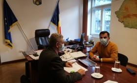 Ministrul Ion Ștefan continuă proiectele pentru dezvoltarea Vrancei
