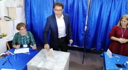 Liviu Macovei a votat pentru președinte proeuropean