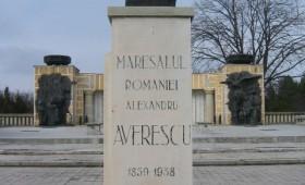 Bustul generalului Alexandru Averescu, sat Mărăşti, comuna Răcoasa