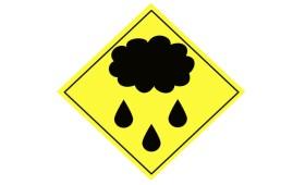 Vremea ploioasă la început de week-end